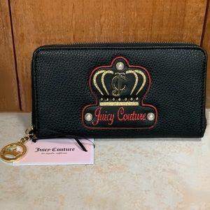 Juicy Couture Royal Crystal Wallet in Black